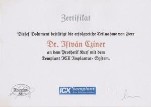 certificate drczineristvanzahnarzt11